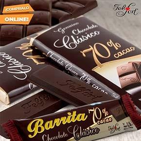 Chocolates semiamargos de Felfort