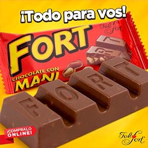 Felfort Chocolate Fort Mani, con mani